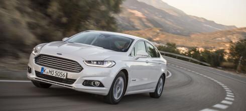 Nye Ford Mondeo kommer også som hybrid
