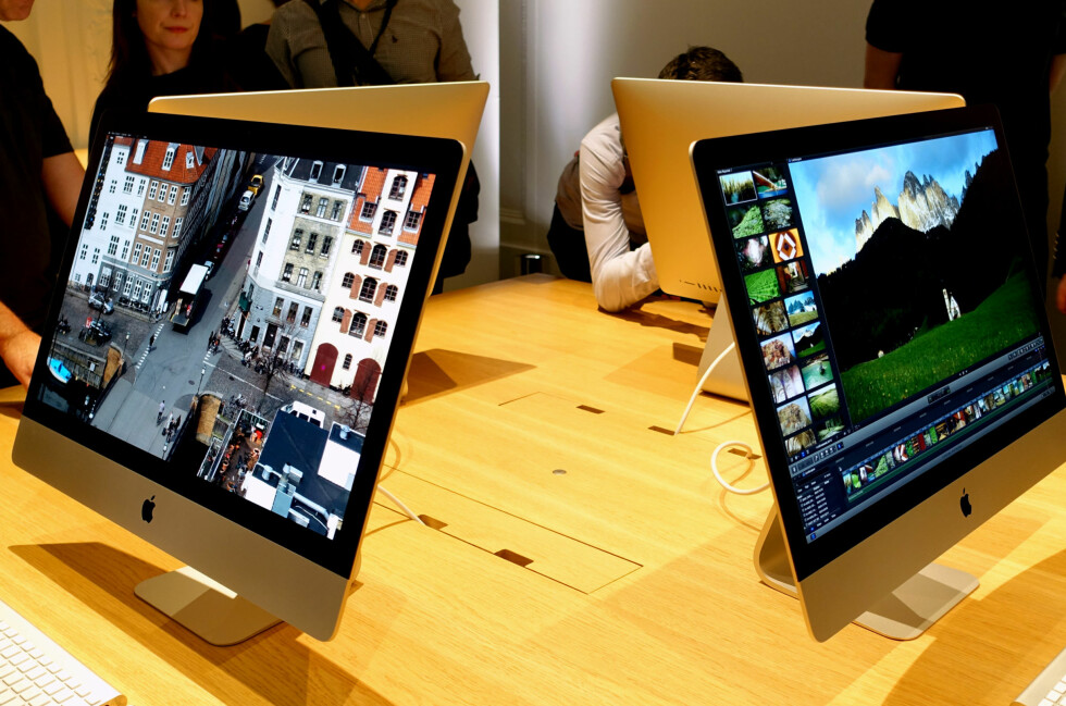 EKSTREM OPPLØSNING: I forrige uke lanserte Apple ny iMac med 5K-oppløsning. Men hva betyr egentlig det? Foto: KIRSTI ØSTVANG