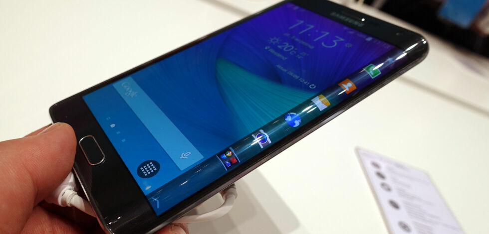 image: NYHET: Samsung Galaxy Edge kommer