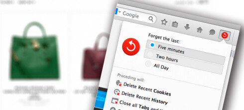 Firefox snart med «panikk-knapp»