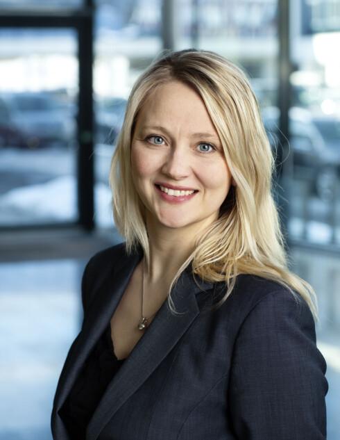 INFORMASJONSSJEF: Anita Svanes er informasjonssjef i Volkswagen Norge. Foto: VW
