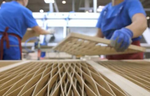 <strong><b>LETTERE:</strong></b> Konstruksjonen gjør møblene lettere å frakte med seg.  Foto: ELISABETH DALSEG