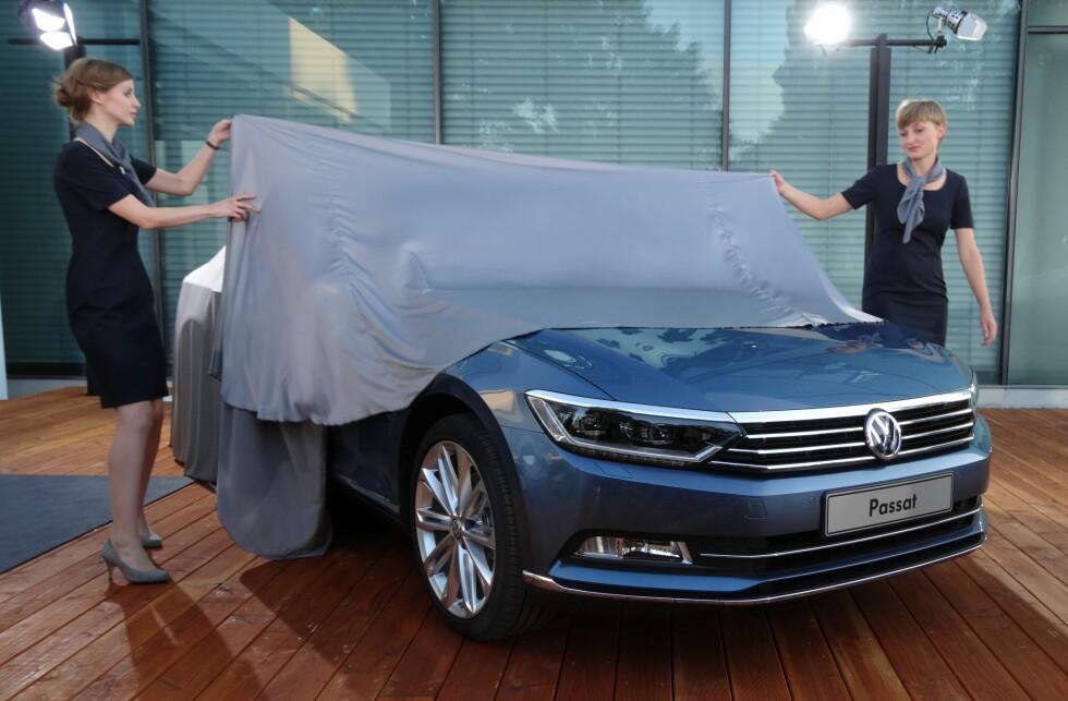 TOPPER TRONEN: Volkswagen stakk av med seieren i den årlige undersøkelsen Gallup Bilindeks.  Foto: Fred Magne Skillebæk