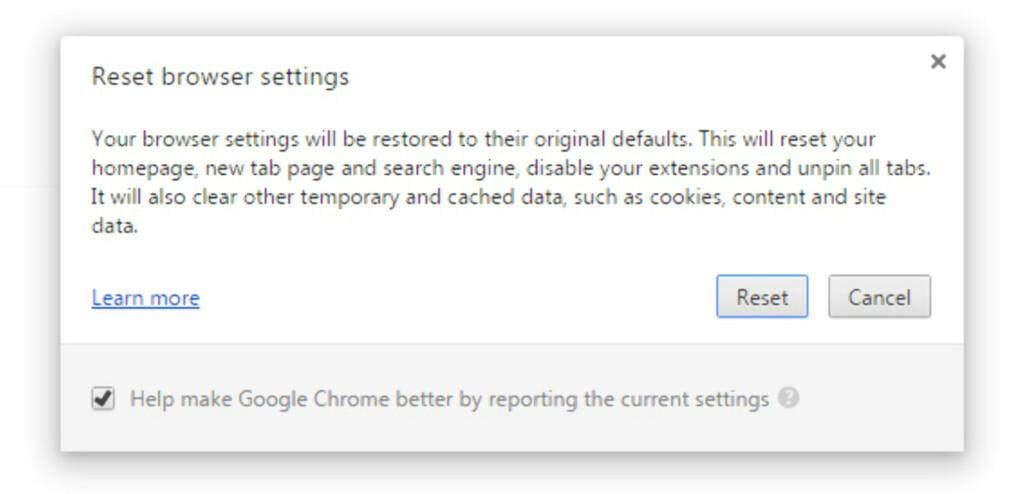 START MED BLANKE ARK: Det kan være en idé å nullstille Chrome fullstendig om du opplever problemer. Foto: KIRSTI ØSTVANG
