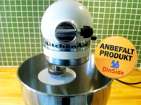 LITEN OG NETT: På mindre kjøkken er KitchenAid et godt alternativ. Foto: PIA STRØMME