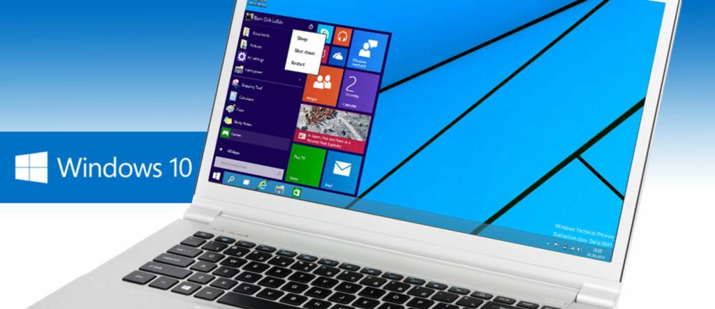 <b>NOE GAMMELT, NOE NYTT:</b> Med Windows 10 gjeninnfører Microsoft en startmeny som tar det beste fra Windows 7 og Windows 8, og gjør en rekke endringer som er gunstig for vanlige PC-bruk med mus og tastatur. Foto: Dinside