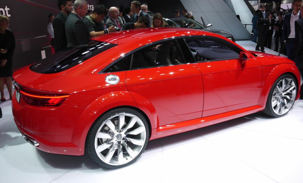 Stilren: Audi TT Sportback er en stilren bil som garantert vil få sin kundeskare. Foto: KNUT MOBERG