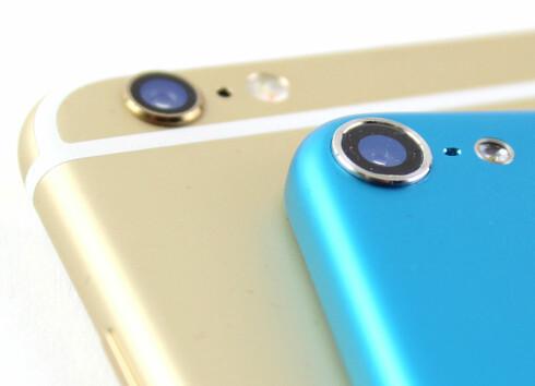 <strong><b>GAMMEL KJENNING:</strong></b> Den utstikkende kameralinsen finner vi også på 5. generasjons iPod touch fra 2012. Foto: KIRSTI ØSTVANG