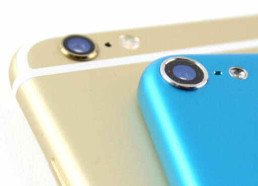GAMMEL KJENNING: Den utstikkende kameralinsen finner vi også på 5. generasjons iPod touch fra 2012. Foto: KIRSTI ØSTVANG