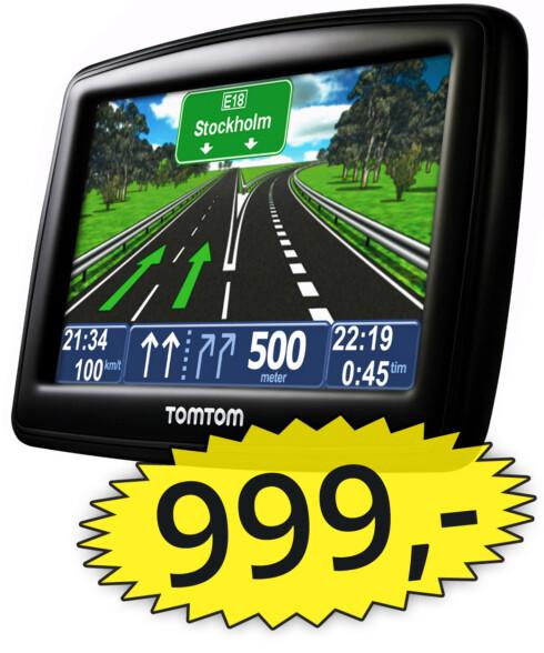 BILLIG: Butikken mente Tom Tom-GPS-en, som kostet 999 kroner, var for billig til å skulle vare i fem år. FTU er uenig.  Foto: OLE PETTER BAUGERØD STOKKE / TOM TOM