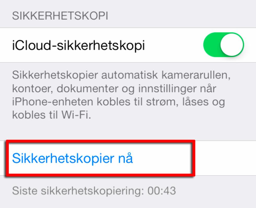 Slik klargjør du iPhone for salg