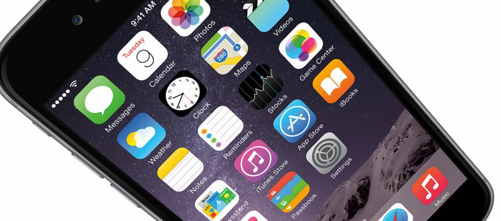 FIKK IKKE RINGT: En ny oppdatering til iOS 8 gjorde at flere iPhone-brukere ikke fikk dekning på sine telefoner. Foto: APPLE