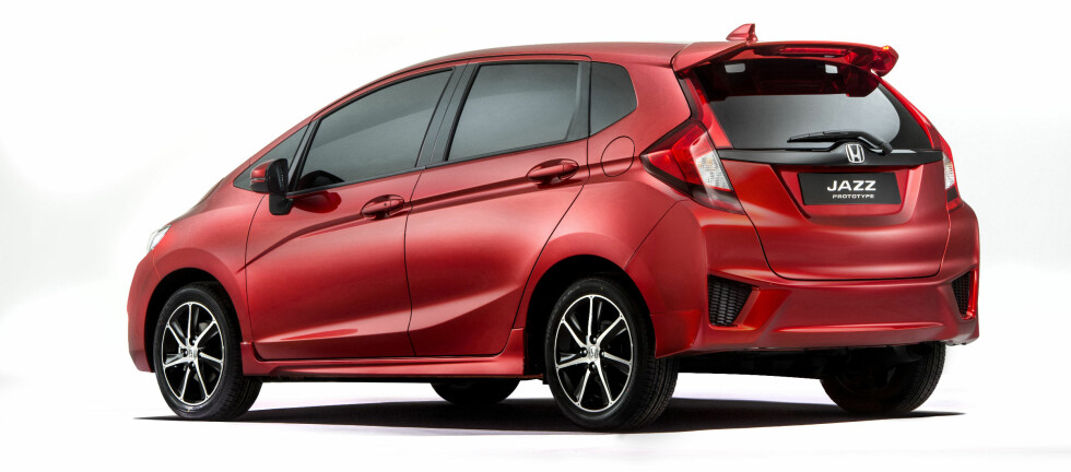 SAMME RESEPT: Honda følger samme oppskrift som før, med denne tredje generasjon Jazz.  Foto: JAMES LIPMAN