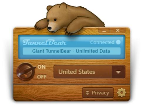 FOR PC OG MAC: I tillegg til iOS- og Android-utgaver, finnes også TunnelBear for PC og Mac.