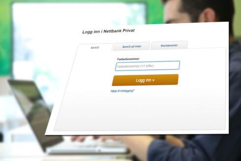 FØRST? Norde får Bank ID 2.0 fra oktober. Foto: ALL OVER PRESS/SKJERMDUMP