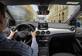 Mercedes B-klasse med facelift og el-motor