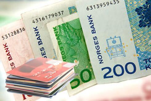 KREDITTKORT: Blant kredittkortene og forbrukslån fra Cresco finner vi egentlig DNB, som tilbyr penger til noe du har lyst på. Er dette ok? Foto: COLOURBOX/ILLUSTRASJON