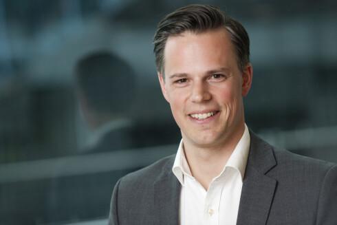 ANSVARLIG: Even Westerveld, informasjonsdirektør i DNB, sier banken har en ansvarlig kredittpolicy. Foto: DNB