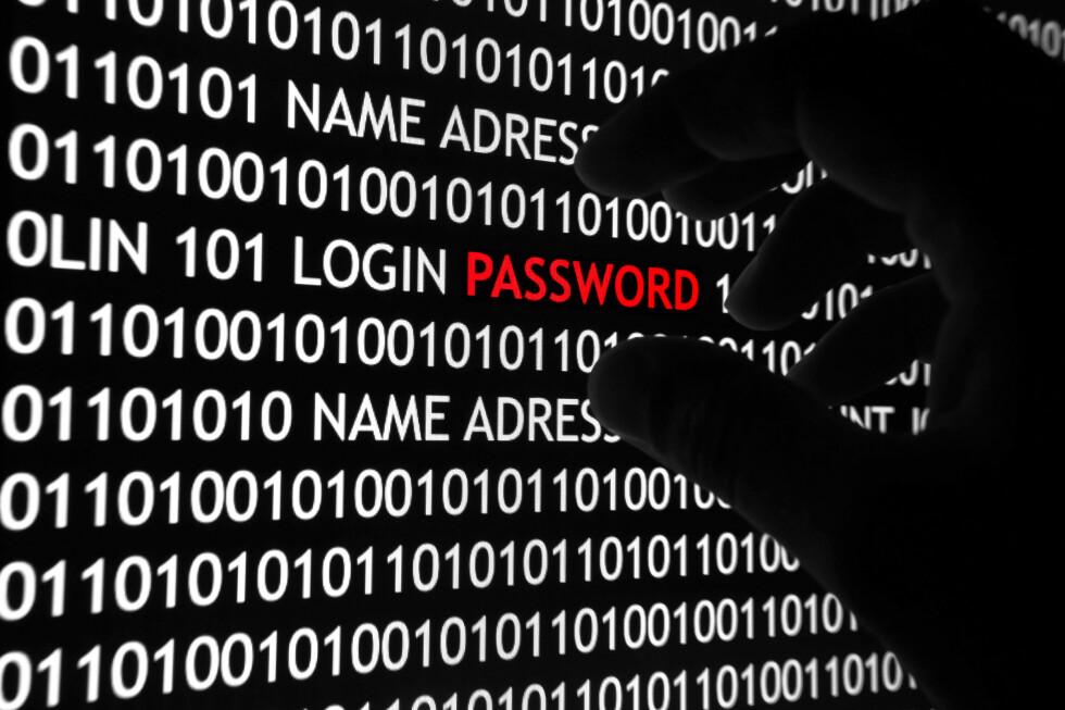 BRUK STERKE PASSORD: Ett av de viktigste rådene for å beskytte seg mot hackere. Foto: ALL OVER PRESS