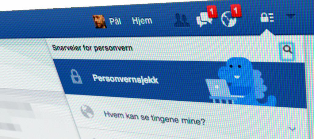 <strong>NYTT VERKTØY:</strong> Nå gjør Facebook det lettere å styre hvem som får se hva. Foto: PÅL JOAKIM OLSEN