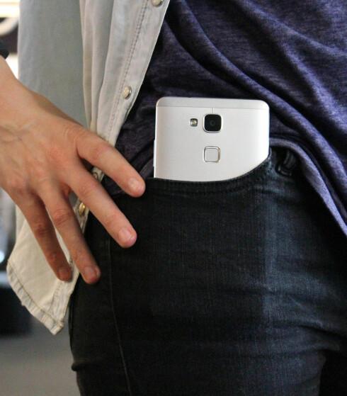 IKKE NOE FOR BUKSELOMMA: Vel, det spørs kanskje hva slags type bukse du har på deg. Foto: OLE PETTER BAUGERØD STOKKE
