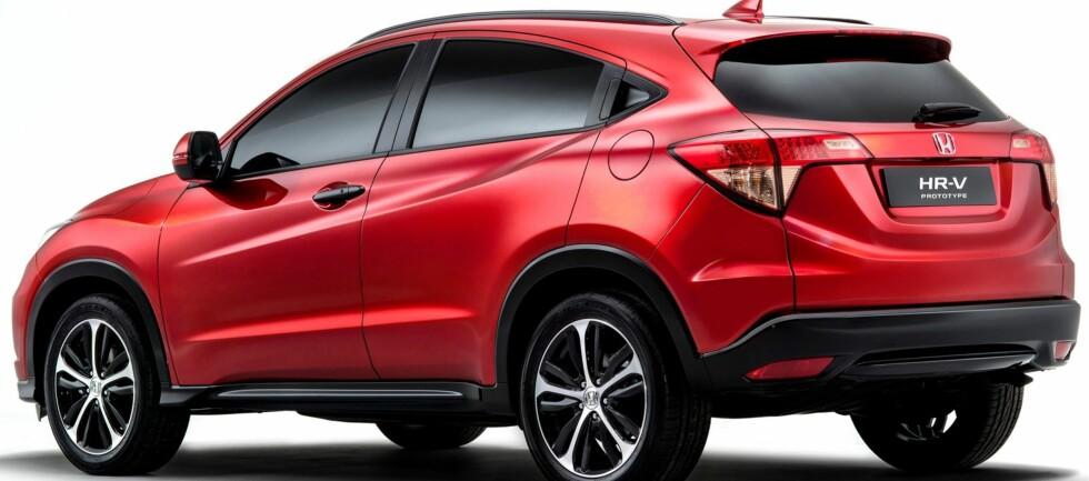 LITEN OG PRAKTISK:  Lite minne om den forrige HR-V, når Honda viser sin andre generasjon.  Foto: Honda