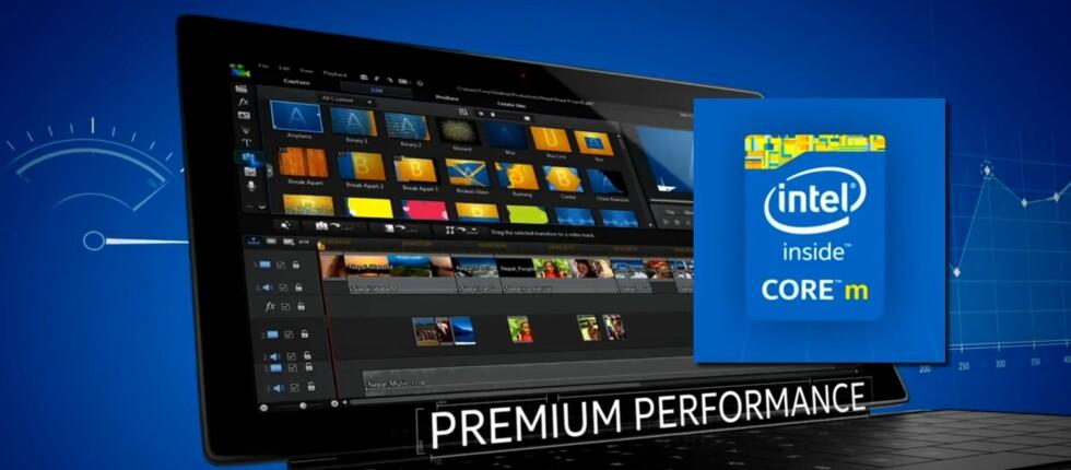 Intel lover høy ytelse, lang batteritid og enda tynnere PC-er og nettbrett med sin nye Core M-familie. Og behovet for vifter er fjernet helt. Foto: Intel