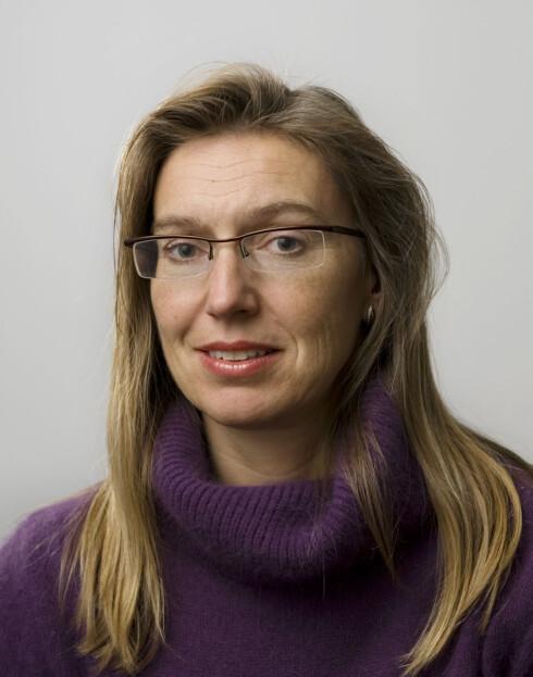 Marit Elisabeth Giske i DNB. Foto: DNB