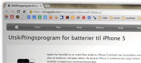Apples batteribytte gir deg dårligere vilkår enn norsk lov