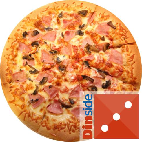 Take away-pizza