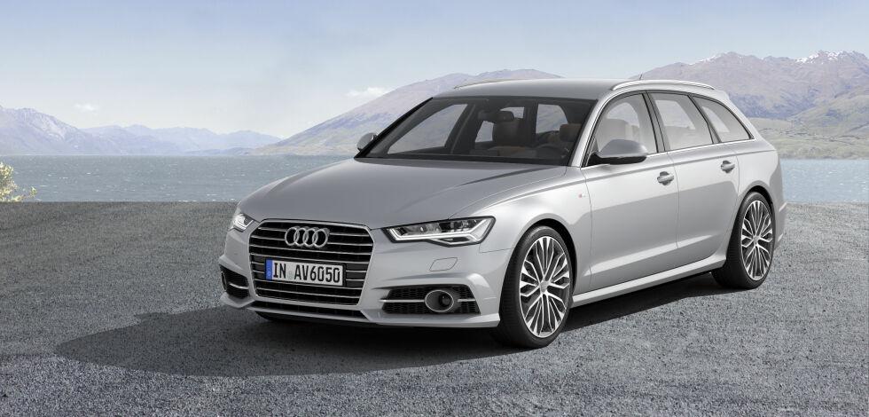 "image: Nå kommer Audi A6 i ""ny"" versjon"