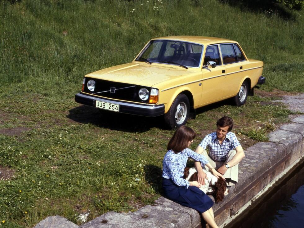 GAMMEL TRAVER: Volvo er fortsatt bilmerket som har høyest gjennomsnittsalder ved vraking. Foto: VOLVO