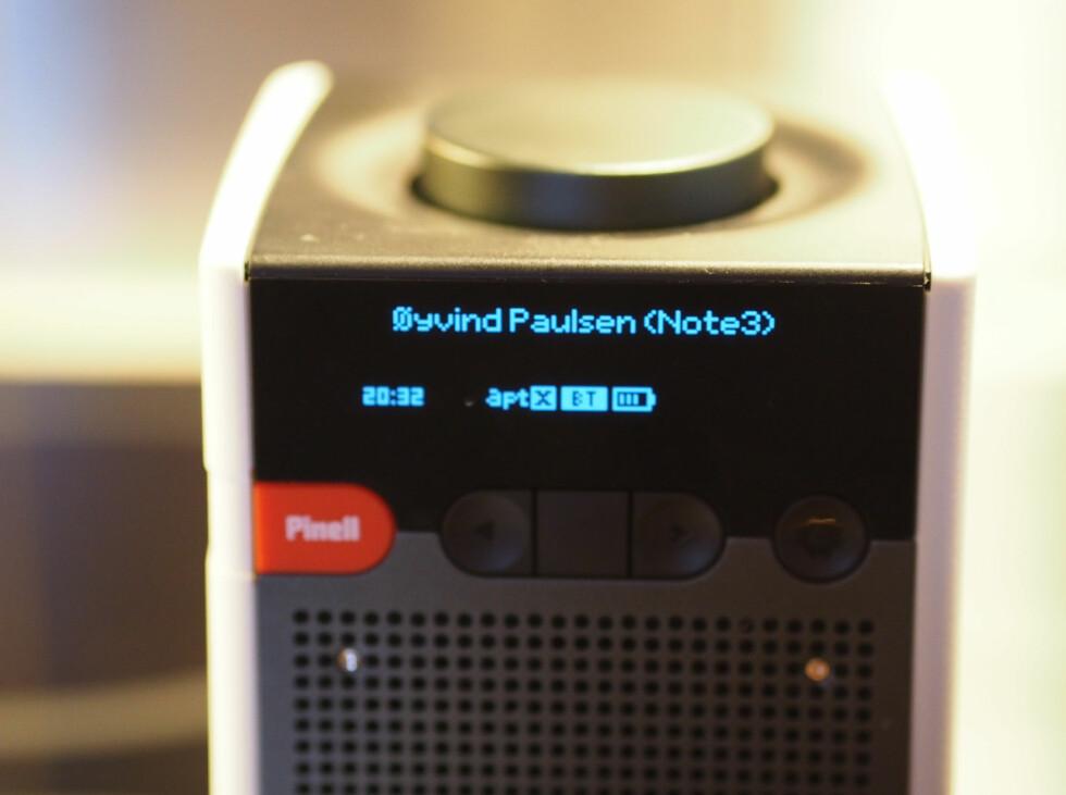 Lett å se hvilken mobil som er tilkoblet. Foto: ØYVIND PAULSEN
