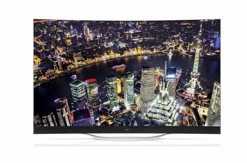 SIKLE-SIKLE: Den TV-en du har hjemme blir fort gammeldags når du har sett kvaliteten du får med en OLED. Foto: LG