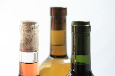 SEKS GLASS: Mange anbefaler rundt 1,2 dl rødvin per glass. Det tilsvarer omtrent seks glass på en vanlig 0,75 liters flaske. Foto: PANTHERMEDIA