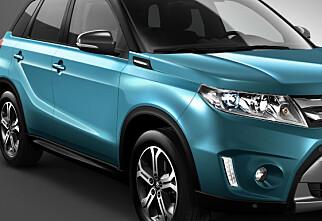 Splitter ny Suzuki Vitara til Paris