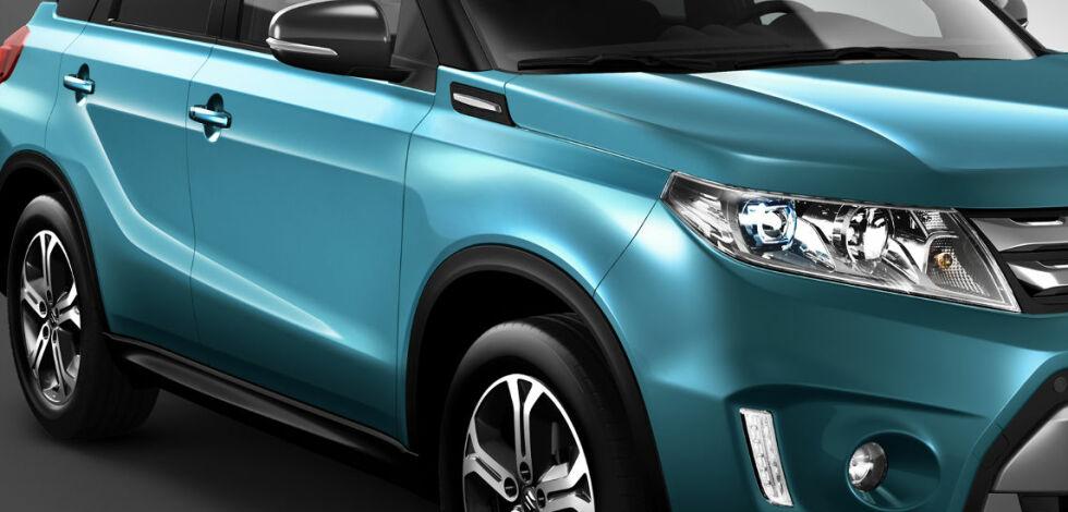 image: Splitter ny Suzuki Vitara til Paris