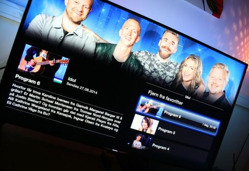 SE TV NÅR DU VIL: Det beste med disse streamingtjenestene er at du kan se dine favoritt-serier når du vil. Foto: KIRSTI ØSTVANG