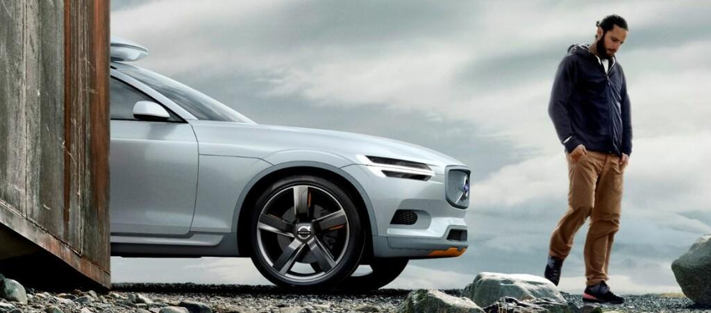 <b>HEMMELIG:</b> Volvo har foreløpig ikke vist frem annet enn konseptbilen av XC90, men prisene og noe informasjon ble sluppet i dag.  Foto: Volvo
