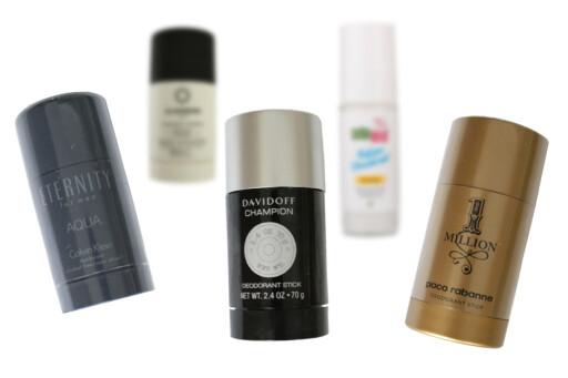 TRIKLOSAN: Triklosan ble funnet i tre av 28 undersøkte deodoranter, i en fersk undersøkelse fra Framtiden i våre hender. Foto: FRAMTIDEN I VÅRE HENDER/ILLUSTRASJON