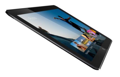 PROTOTYP: Intels egen referansemodell for «Core M» er en hybrid med en 12,5 tommers skjerm, er 7,2 mm tykk og veier 670 gram. Foto: INTEL