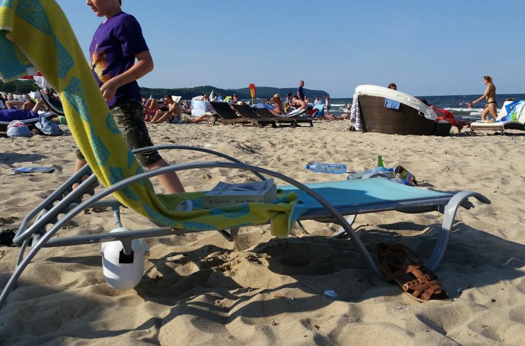 <B>TRYGT:</B> Grunderne bak AquaVault kom på ideen etter å ha blitt frastjålet alle verdisakene sine på stranda ved en luksuriøs resort i Florida.  Foto: NINA SKAUGVOLLDAL