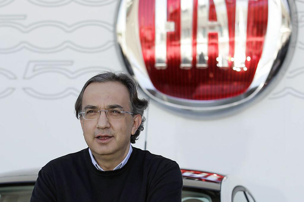 <b>RESPEKTERT:</b> Toppsjef Sergio Marchionne i Fiat er en respektert mann i den internasjonale bilindustrien. Men nå møter han motstand fra uventet hold.  Foto: WIKIMEDIA COMMONS