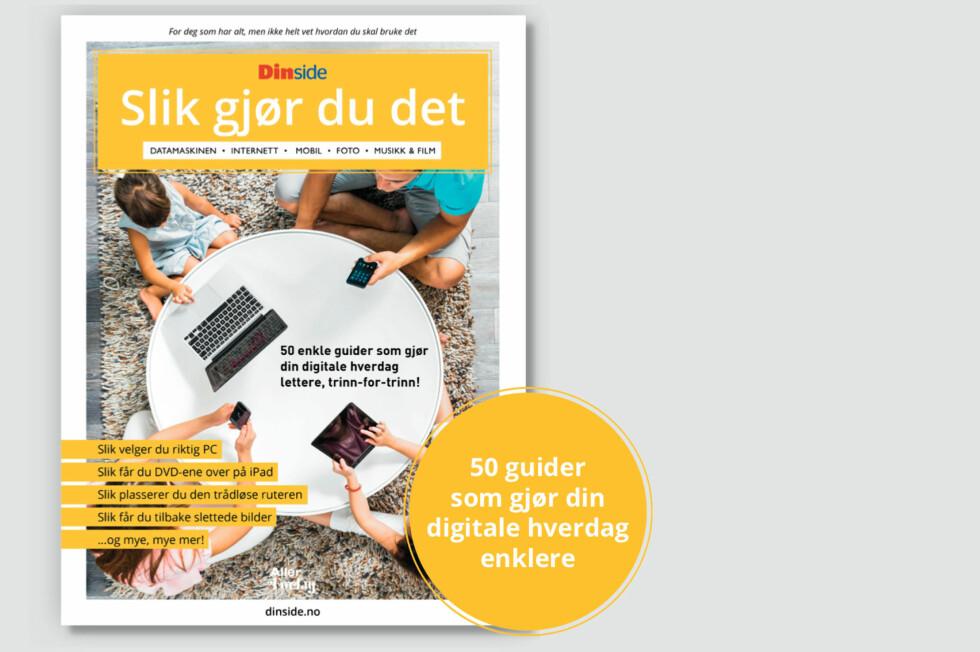 50-guider til 179 kroner: Kjøp den til deg selv eller noen du er glad i. Foto: DINSIDE