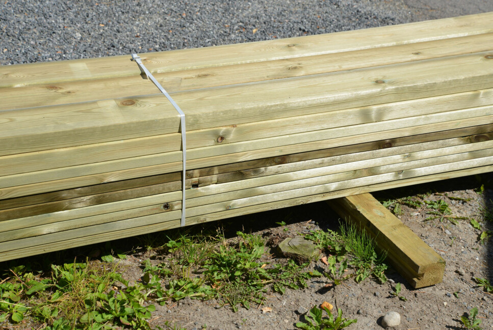 LETT: Å bygge terrasse er lettere enn mange tror. Les tipsene i saken under. Foto: Brynjuld Blix.