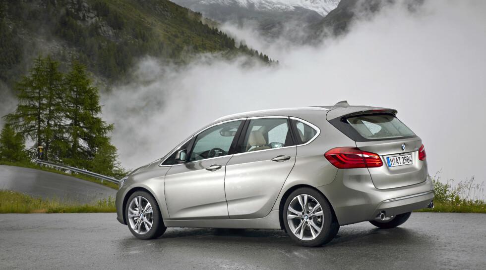 FOR NYE KUNDER: 2-serie Active Tourer skal kjøpes av folk som ikke har eid BMW før. Foto: BMW