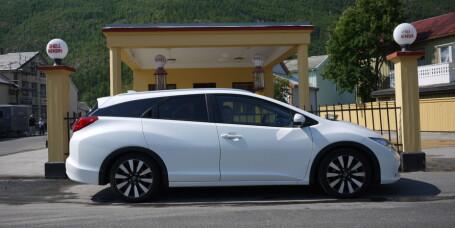 Er Honda Civic Tourer familiens beste venn?