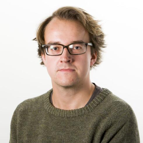 Ole Petter Baugerød Stokke er journalist hos Dinside. Foto: PER ERVLAND