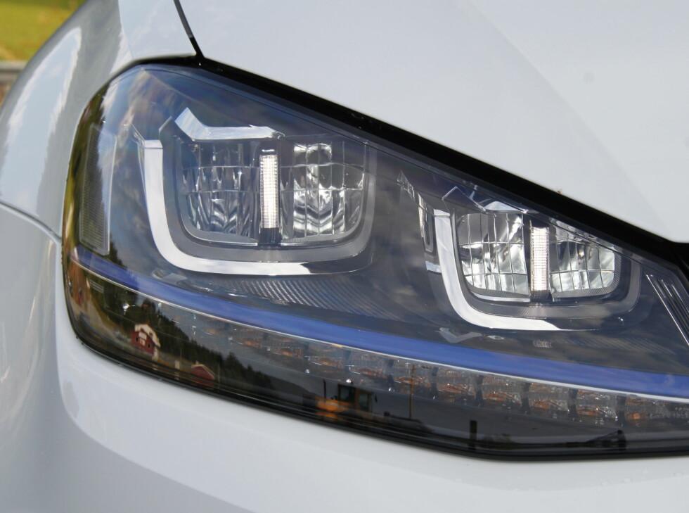 LED: Strømsvelgende halogenlamper er bannlyst. Foto: RUNE M. NESHEIM