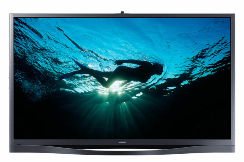 <b>UTDØENDE RASE:</b> Samsungs 64-tommer F8505 (PS64F8505ST), kan være din siste sjanse dersom du ønsker deg en plasma-TV fra den koreanske giganten. Foto: SAMSUNG